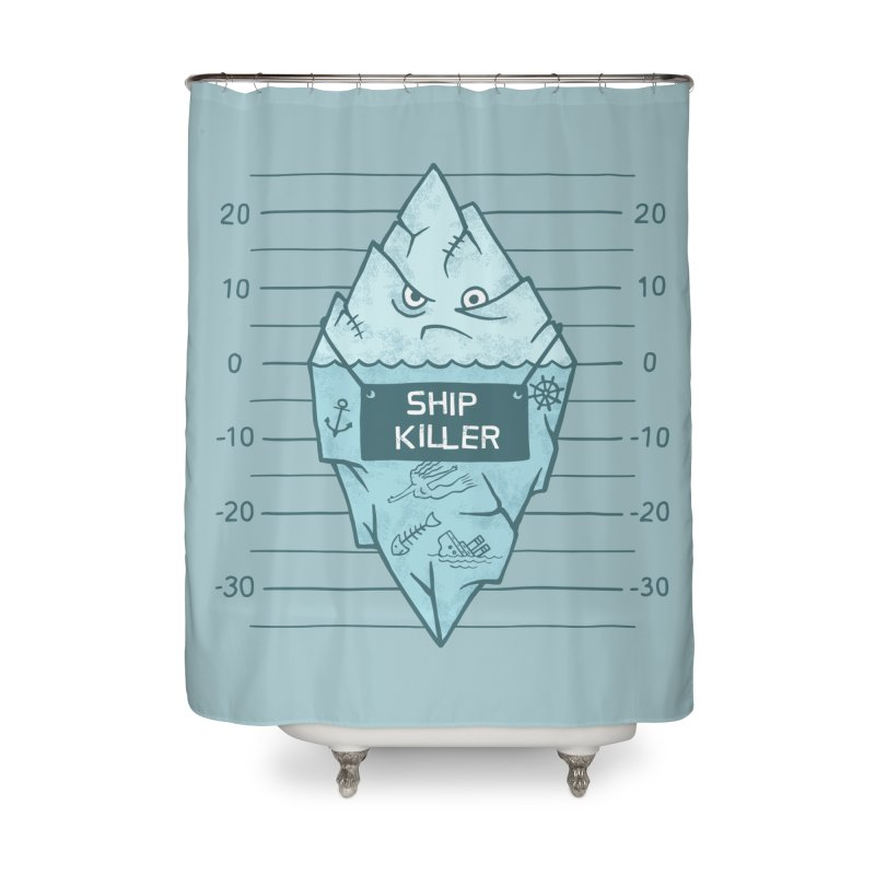 SHIP KILLER Home Shower Curtain by gotoup's Artist Shop