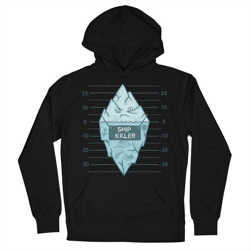 SHIP KILLER Women's French Terry Pullover Hoody by gotoup's Artist Shop