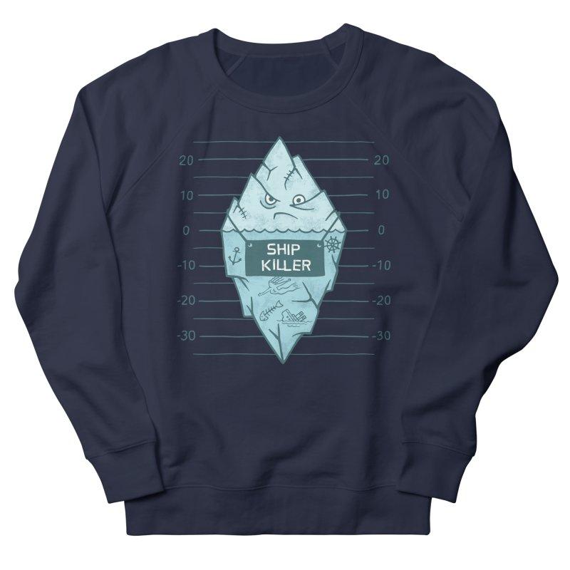 SHIP KILLER Men's French Terry Sweatshirt by gotoup's Artist Shop