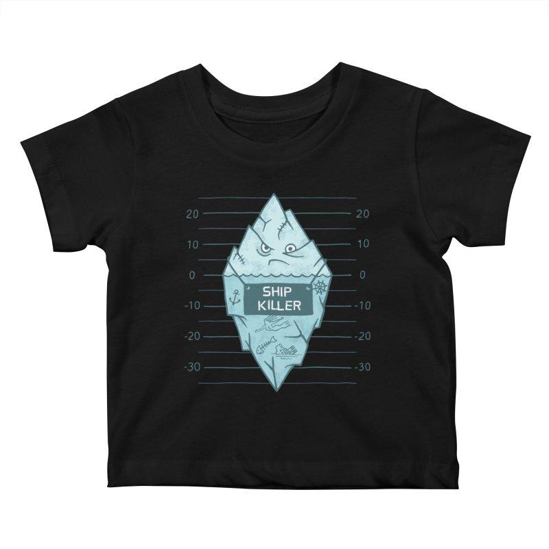 SHIP KILLER Kids Baby T-Shirt by gotoup's Artist Shop