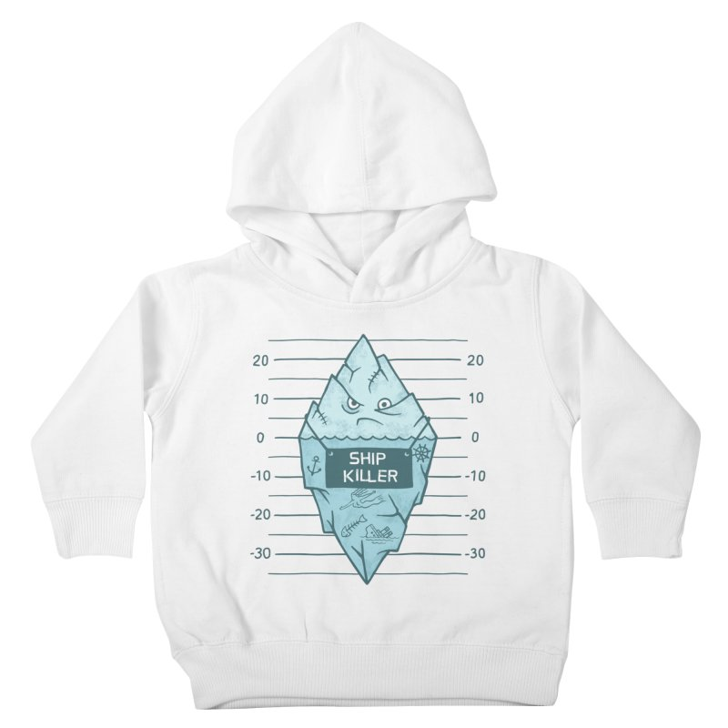 SHIP KILLER Kids Toddler Pullover Hoody by gotoup's Artist Shop