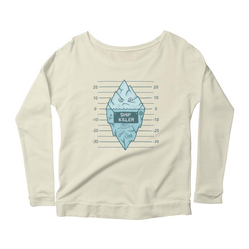 SHIP KILLER Women's Scoop Neck Longsleeve T-Shirt by gotoup's Artist Shop