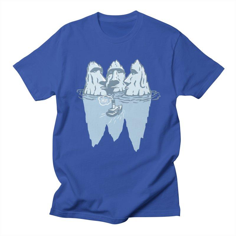 THREE ICEBERGS Women's Regular Unisex T-Shirt by gotoup's Artist Shop