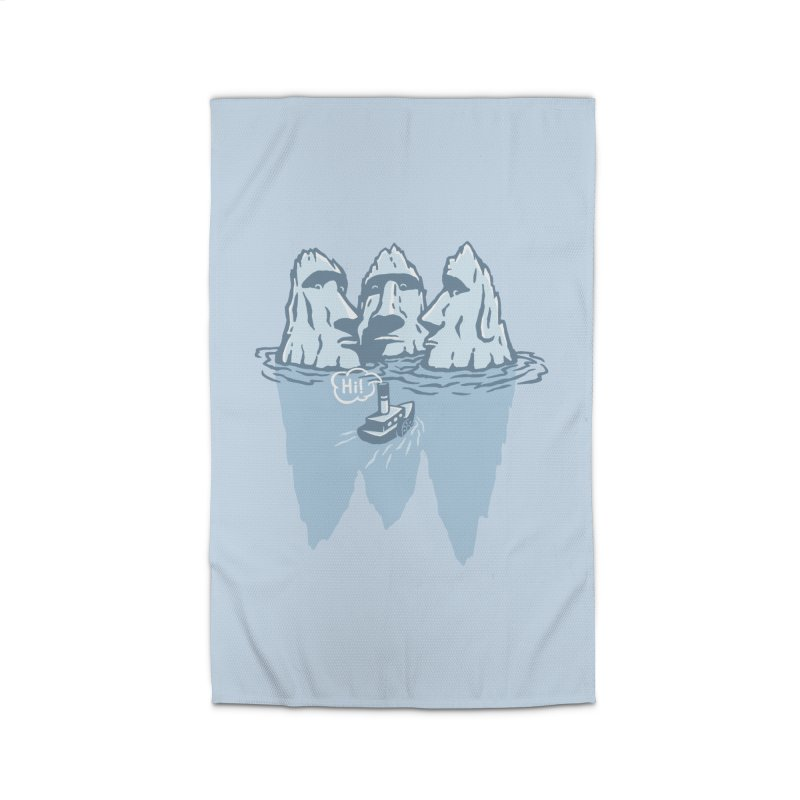 THREE ICEBERGS Home Rug by gotoup's Artist Shop