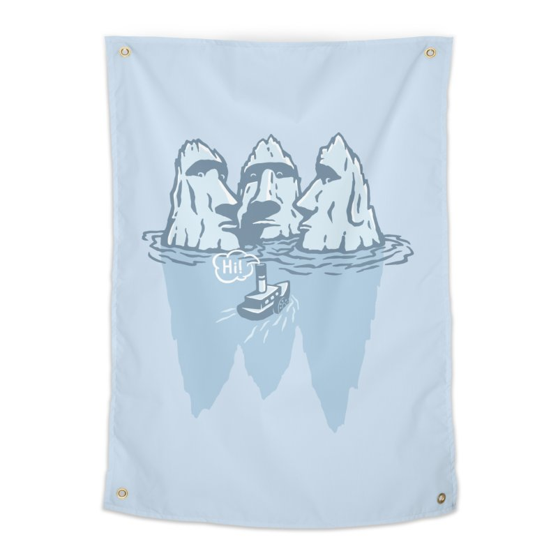 THREE ICEBERGS Home Tapestry by gotoup's Artist Shop