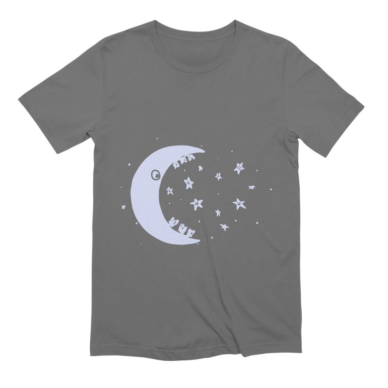 BAD MOON Men's Extra Soft T-Shirt by gotoup's Artist Shop