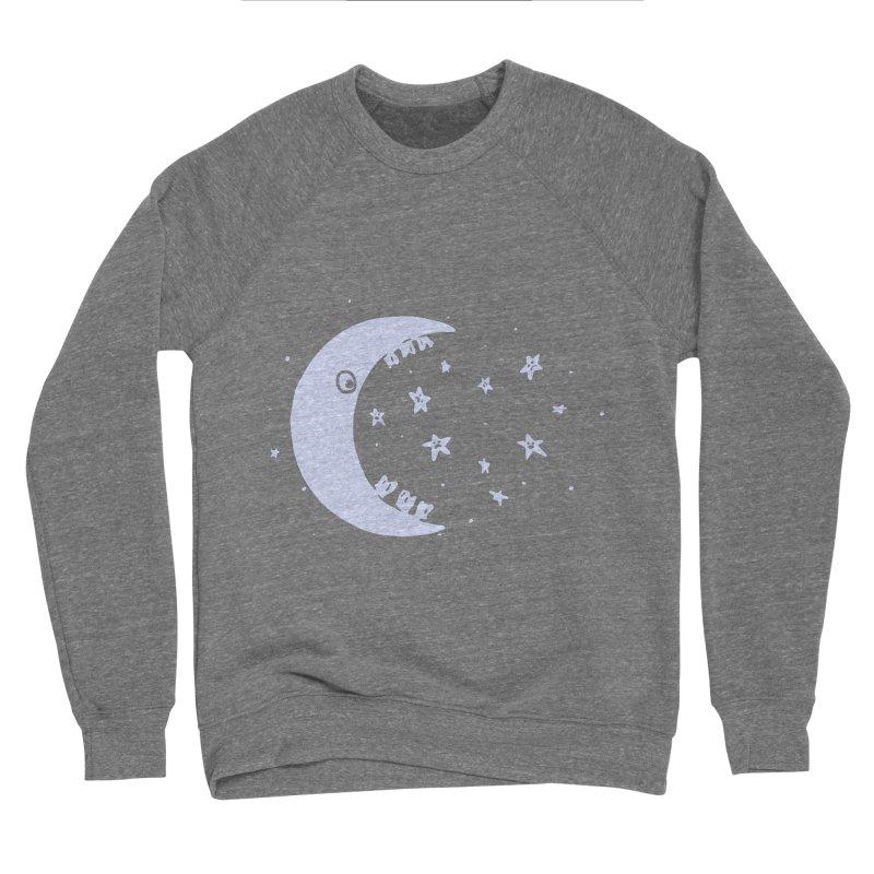 BAD MOON Men's Sponge Fleece Sweatshirt by gotoup's Artist Shop