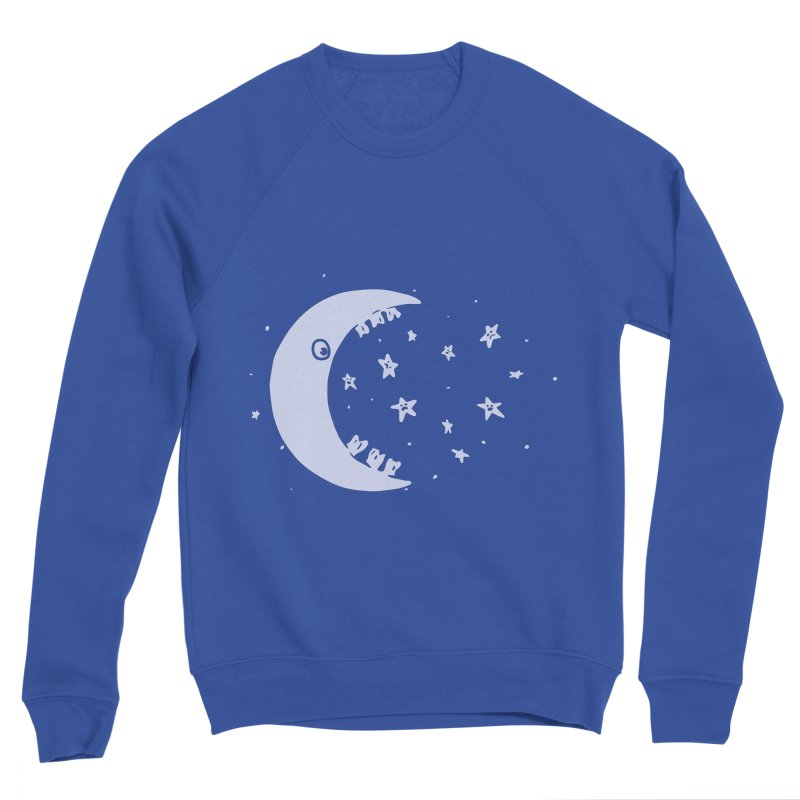 BAD MOON Women's Sponge Fleece Sweatshirt by gotoup's Artist Shop