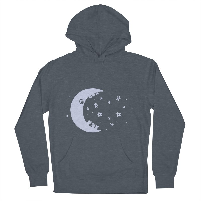 BAD MOON Men's French Terry Pullover Hoody by gotoup's Artist Shop