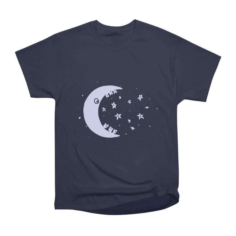 BAD MOON Women's Heavyweight Unisex T-Shirt by gotoup's Artist Shop