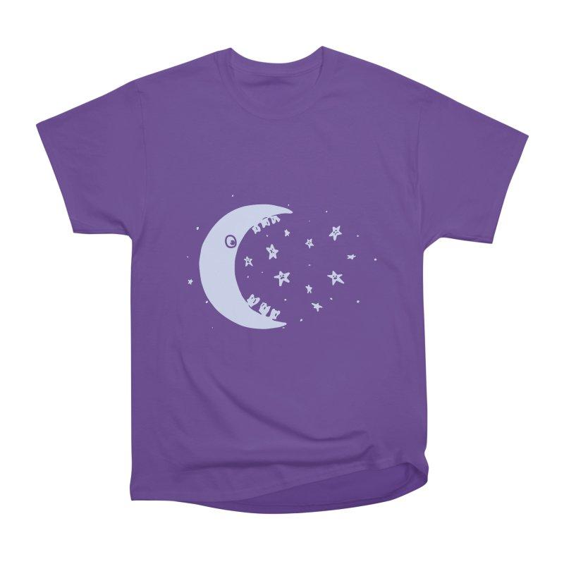 BAD MOON Men's Heavyweight T-Shirt by gotoup's Artist Shop