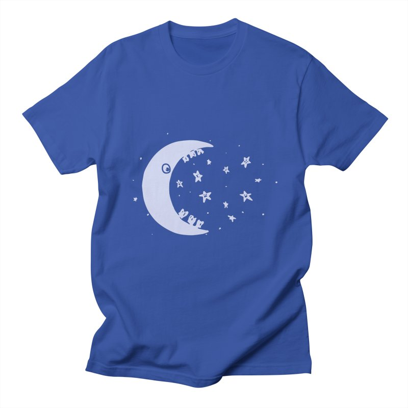 BAD MOON Women's Regular Unisex T-Shirt by gotoup's Artist Shop