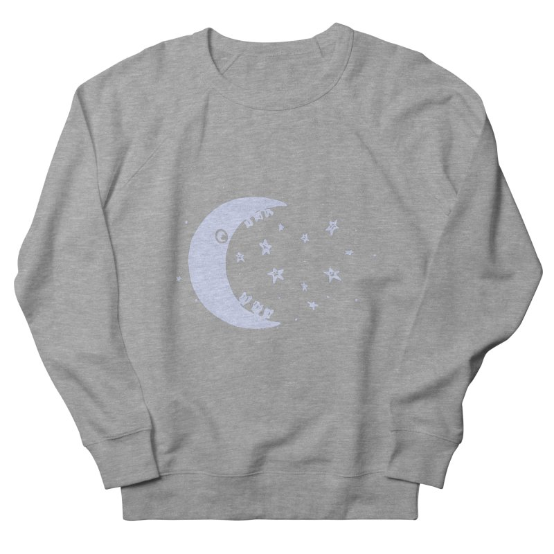 BAD MOON Women's French Terry Sweatshirt by gotoup's Artist Shop
