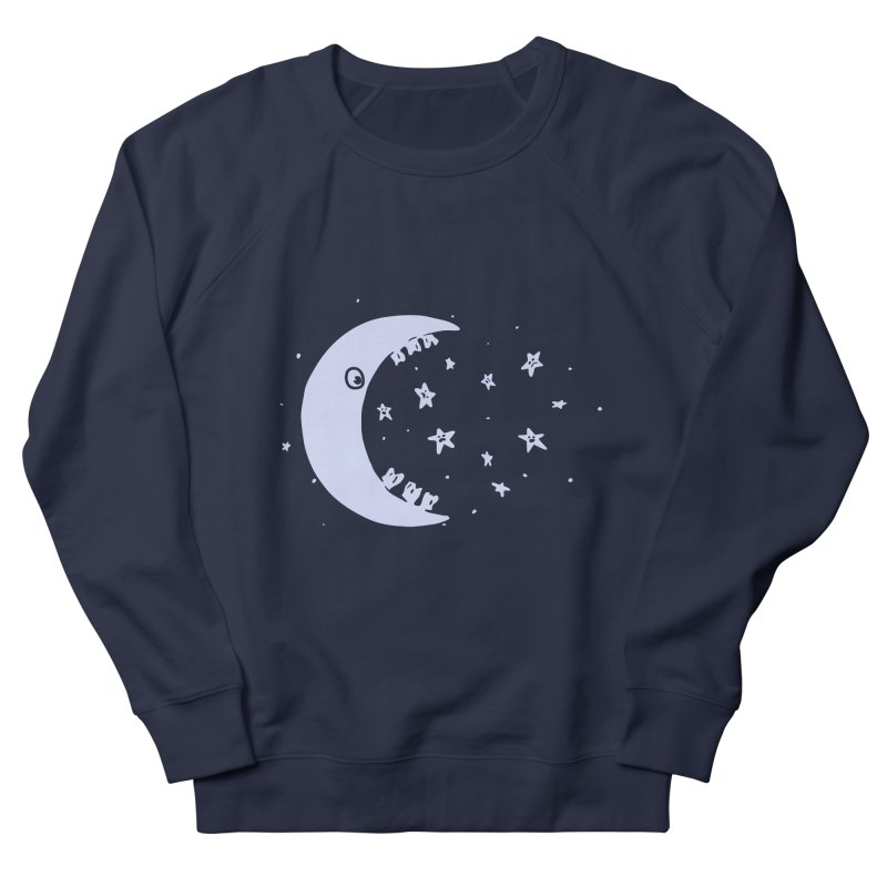 BAD MOON Men's French Terry Sweatshirt by gotoup's Artist Shop