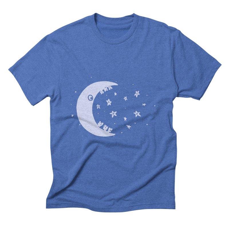 BAD MOON Men's Triblend T-Shirt by gotoup's Artist Shop