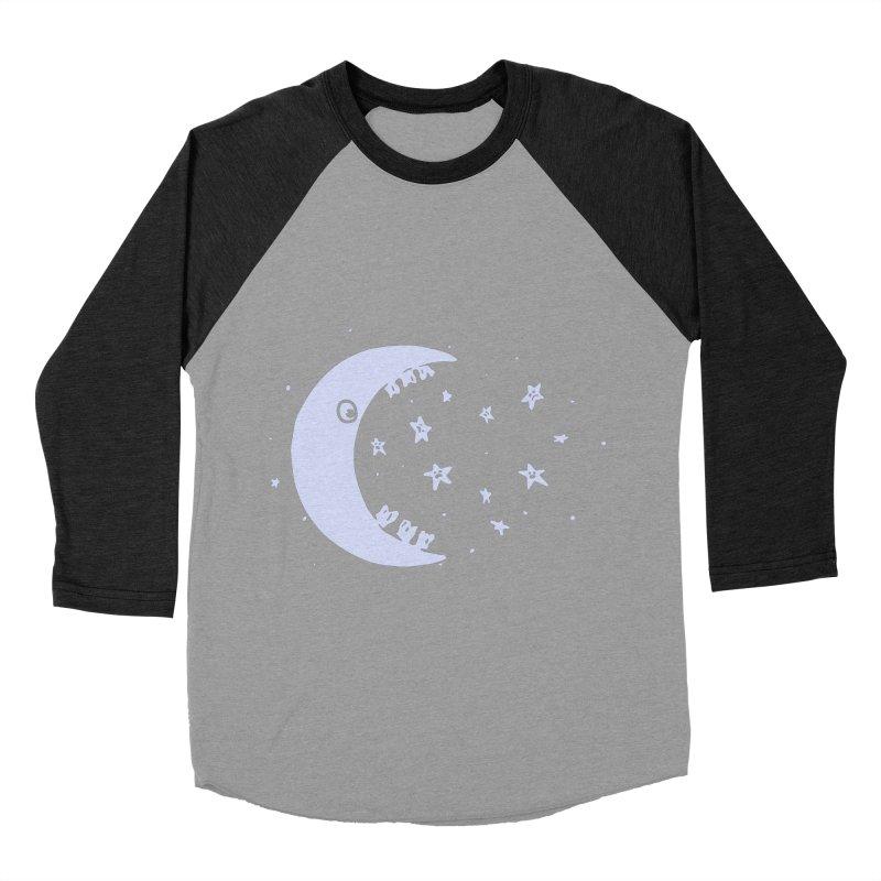 BAD MOON Women's Baseball Triblend Longsleeve T-Shirt by gotoup's Artist Shop