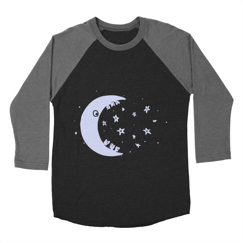 BAD MOON Men's Baseball Triblend Longsleeve T-Shirt by gotoup's Artist Shop