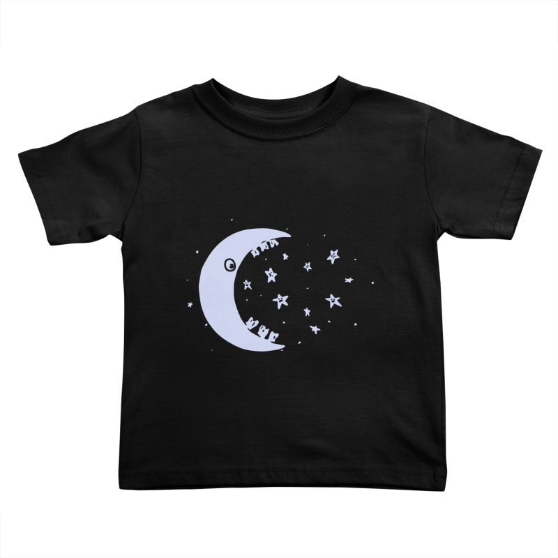 BAD MOON Kids Toddler T-Shirt by gotoup's Artist Shop