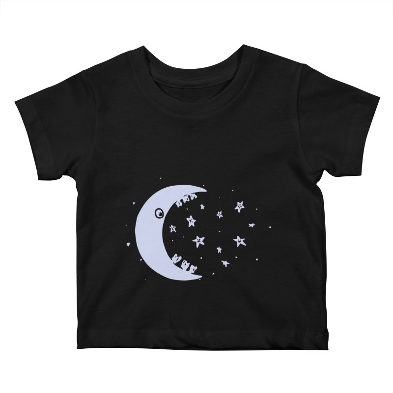 BAD MOON Kids Baby T-Shirt by gotoup's Artist Shop