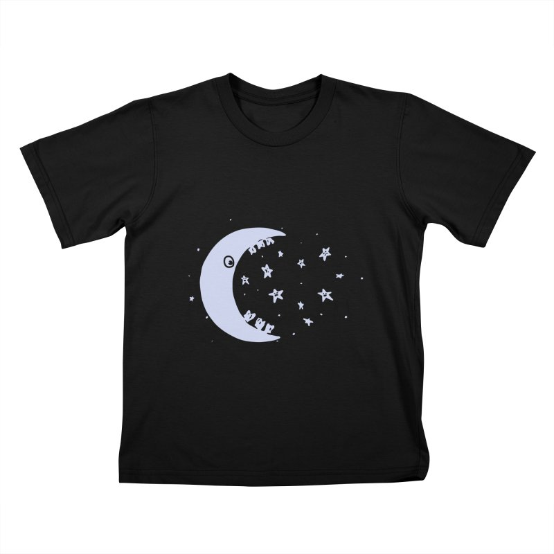 BAD MOON Kids T-Shirt by gotoup's Artist Shop