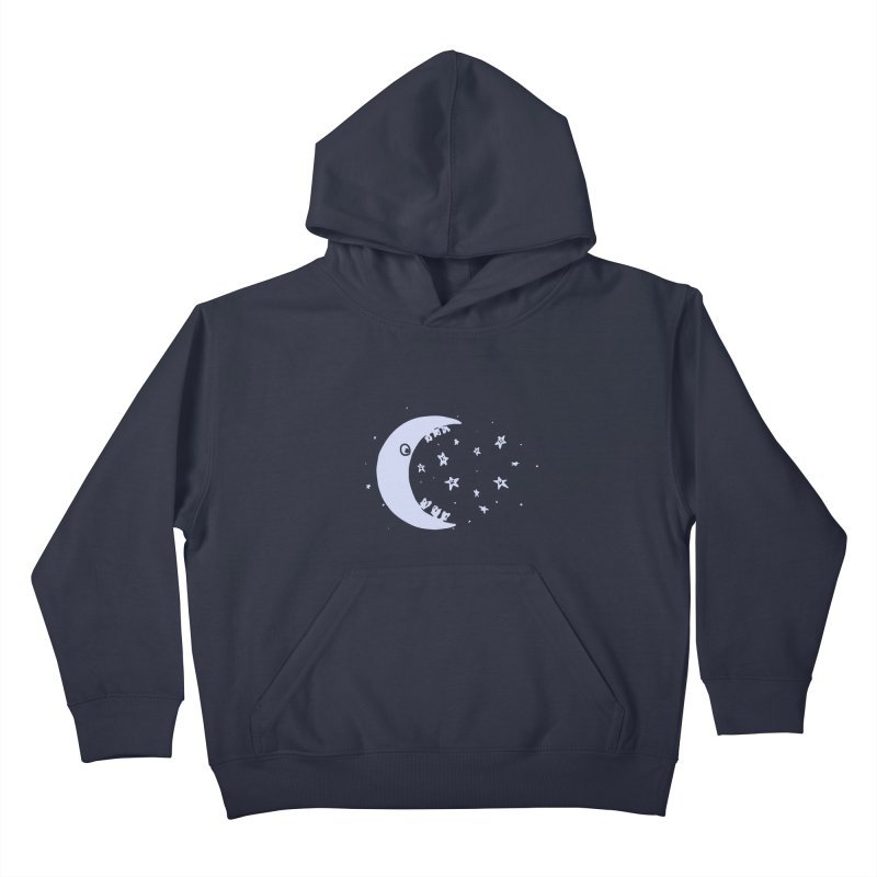 BAD MOON Kids Pullover Hoody by gotoup's Artist Shop