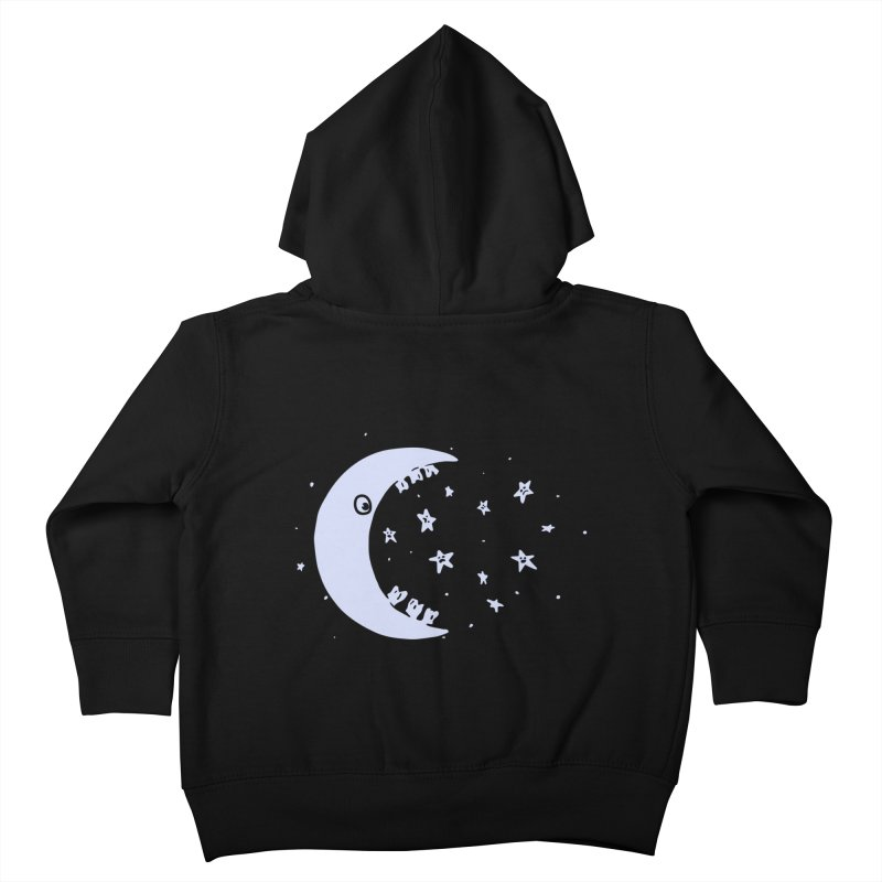 BAD MOON Kids Toddler Zip-Up Hoody by gotoup's Artist Shop
