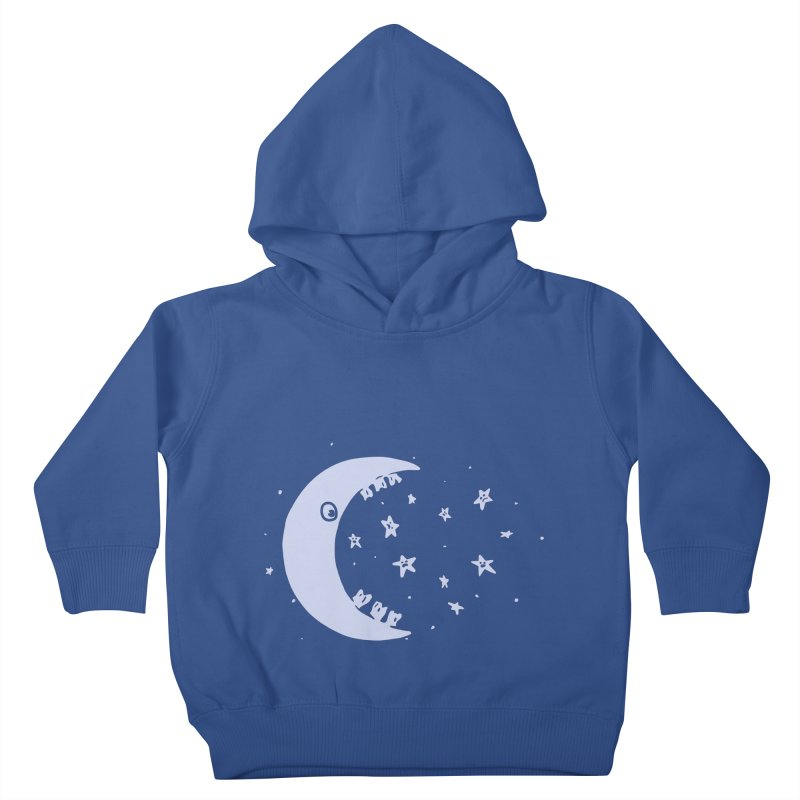 BAD MOON Kids Toddler Pullover Hoody by gotoup's Artist Shop