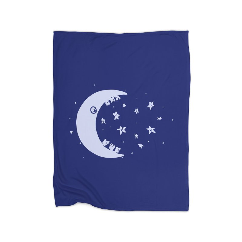 BAD MOON Home Blanket by gotoup's Artist Shop