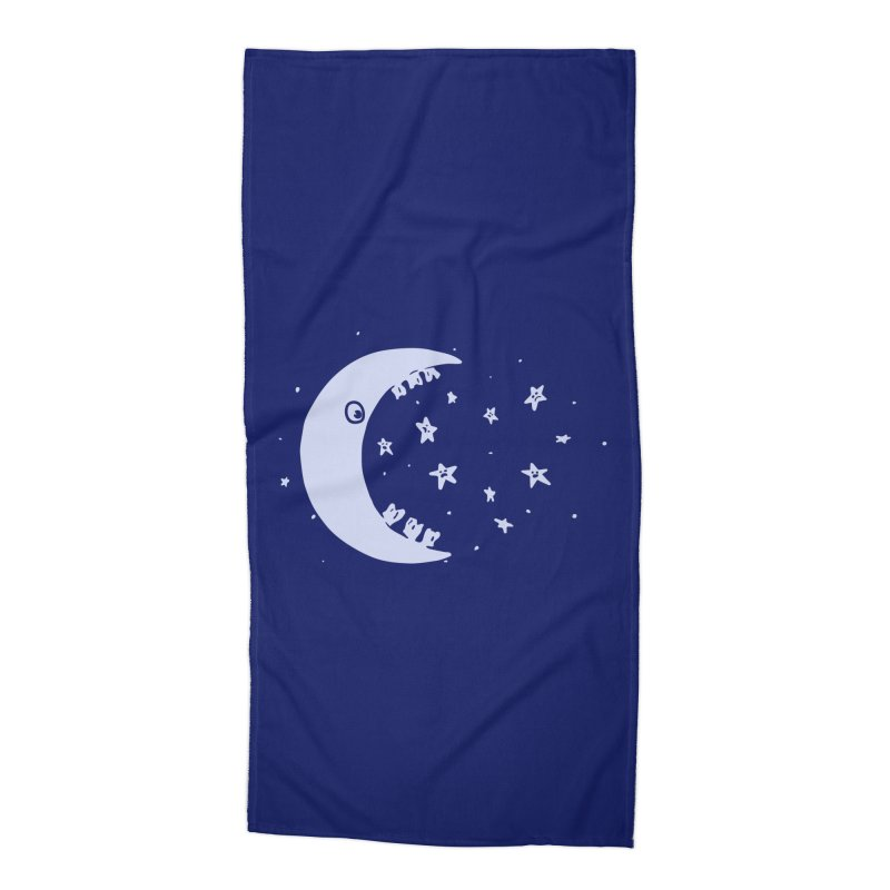 BAD MOON Accessories Beach Towel by gotoup's Artist Shop