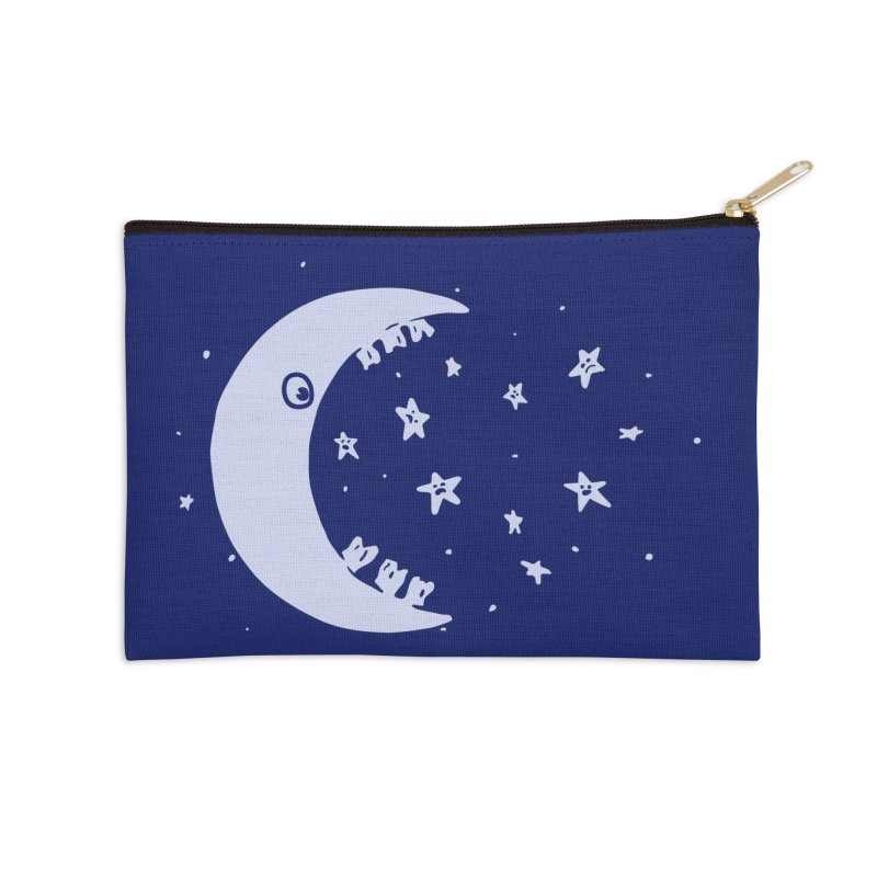 BAD MOON Accessories Zip Pouch by gotoup's Artist Shop