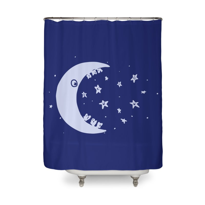 BAD MOON Home Shower Curtain by gotoup's Artist Shop