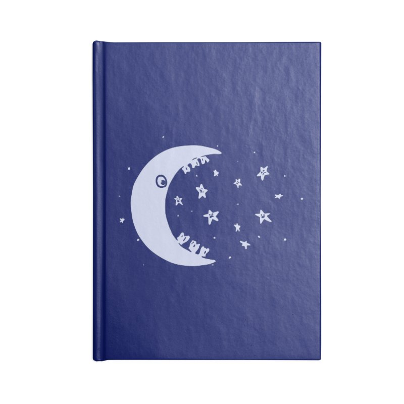 BAD MOON Accessories Notebook by gotoup's Artist Shop