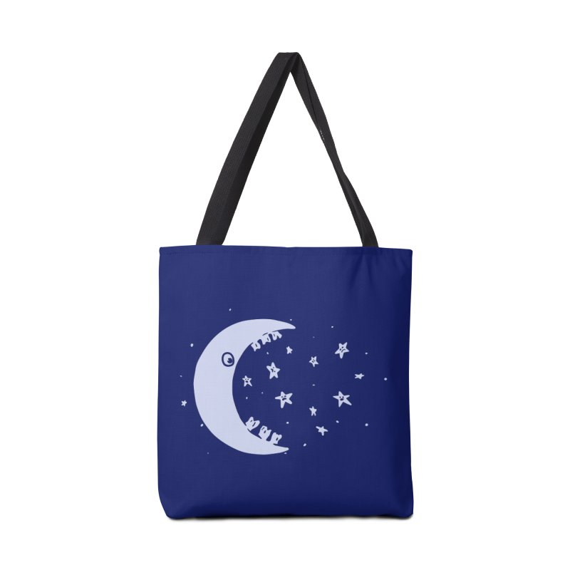 BAD MOON Accessories Bag by gotoup's Artist Shop