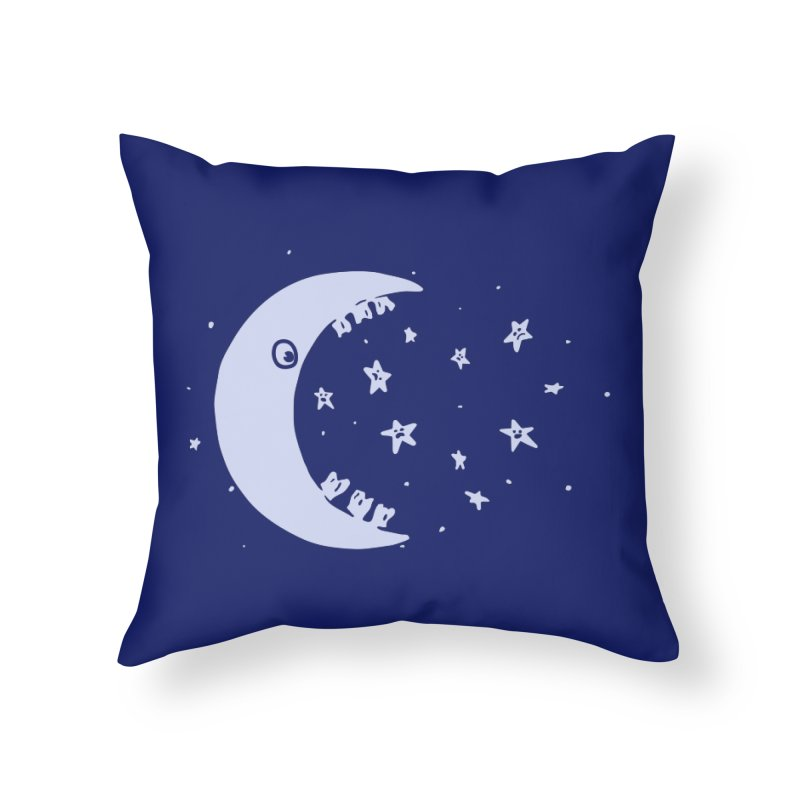 BAD MOON Home Throw Pillow by gotoup's Artist Shop
