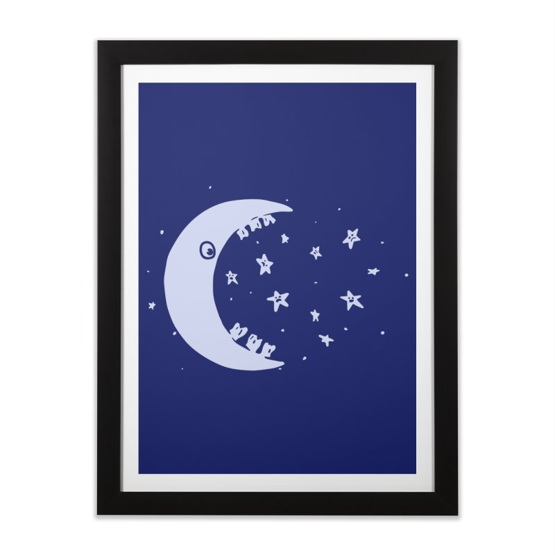 BAD MOON Home Framed Fine Art Print by gotoup's Artist Shop