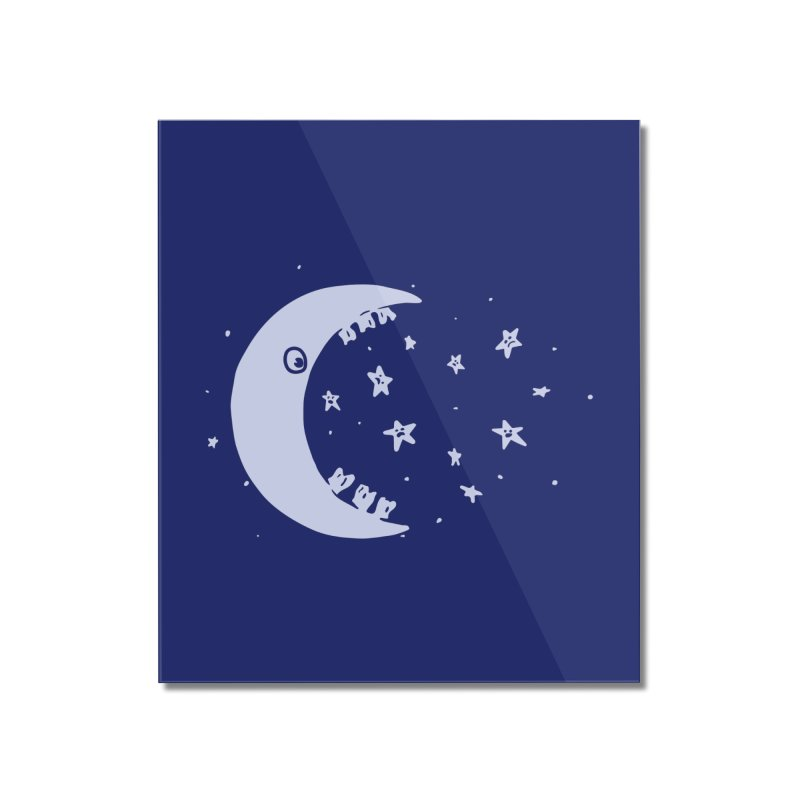 BAD MOON Home Mounted Acrylic Print by gotoup's Artist Shop