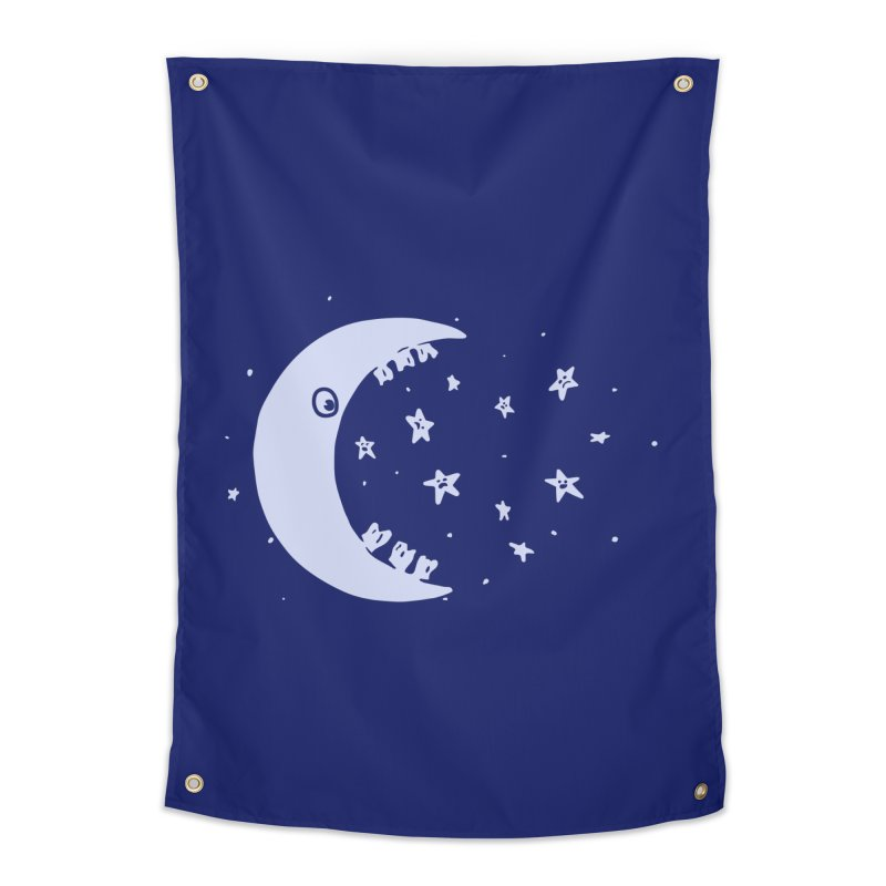 BAD MOON Home Tapestry by gotoup's Artist Shop