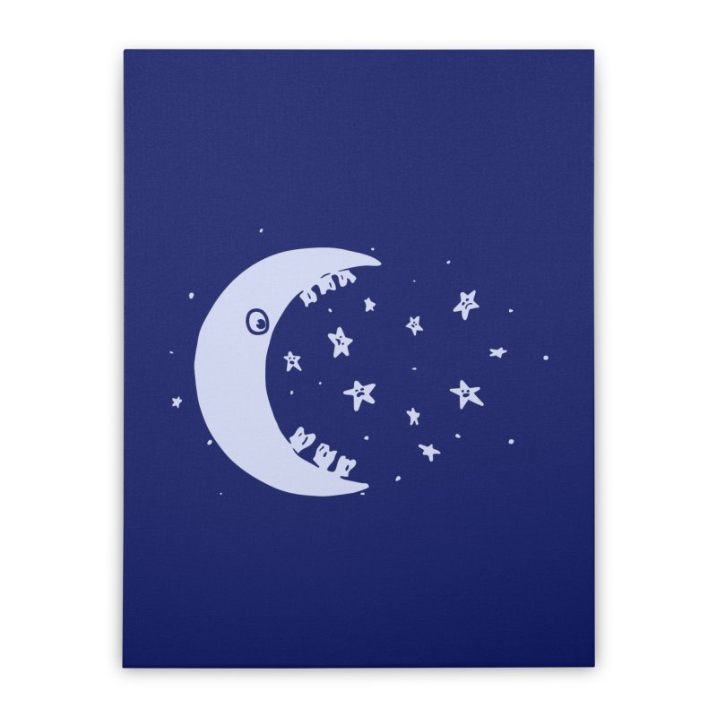BAD MOON Home Stretched Canvas by gotoup's Artist Shop