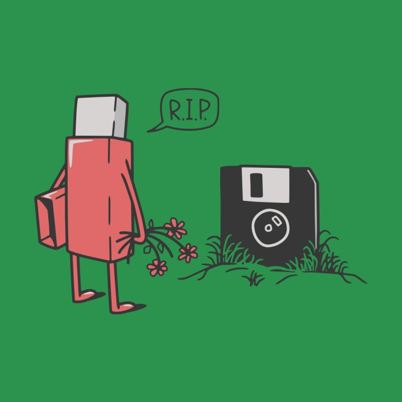 RIP FLOPPY by gotoup's Artist Shop