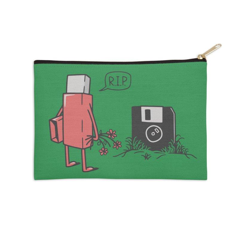 RIP FLOPPY Accessories Zip Pouch by gotoup's Artist Shop