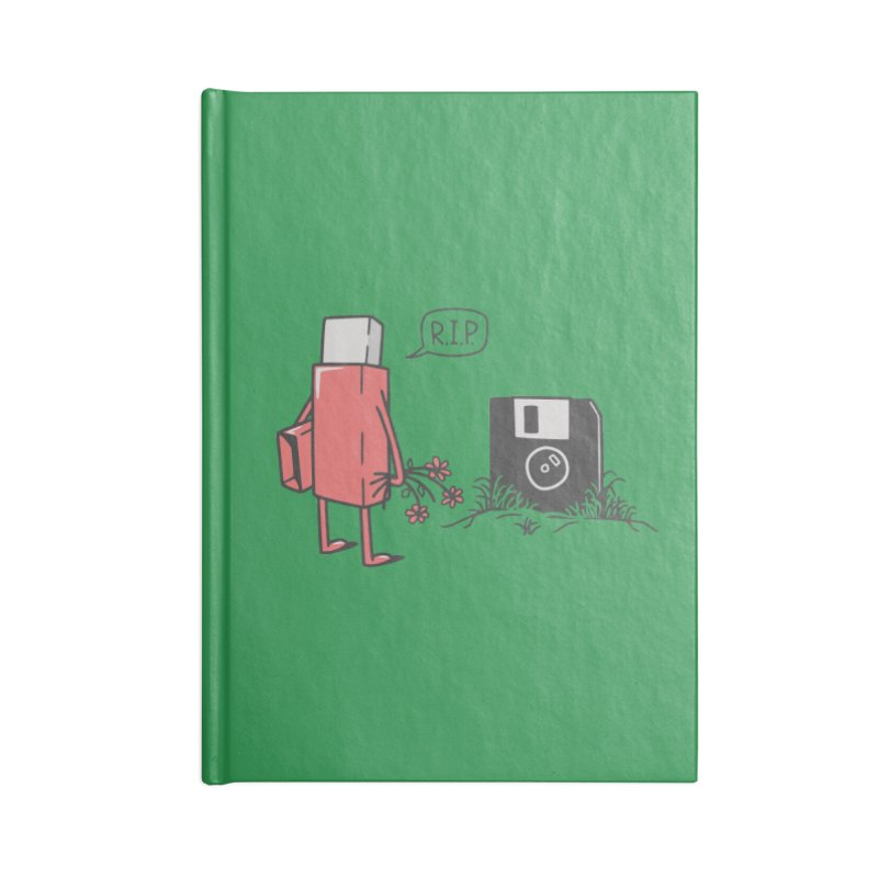 RIP FLOPPY Accessories Blank Journal Notebook by gotoup's Artist Shop