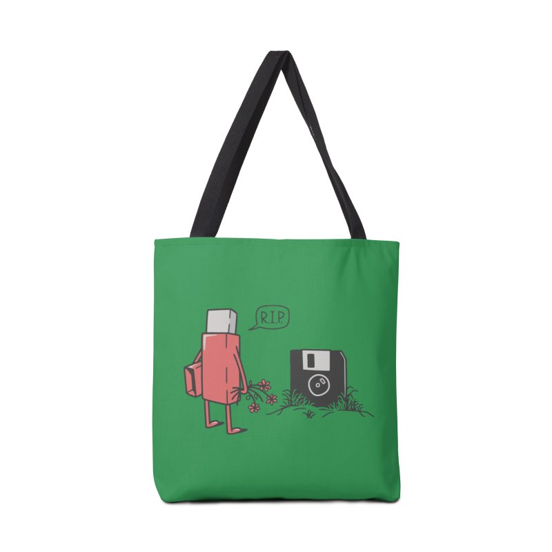 RIP FLOPPY Accessories Bag by gotoup's Artist Shop
