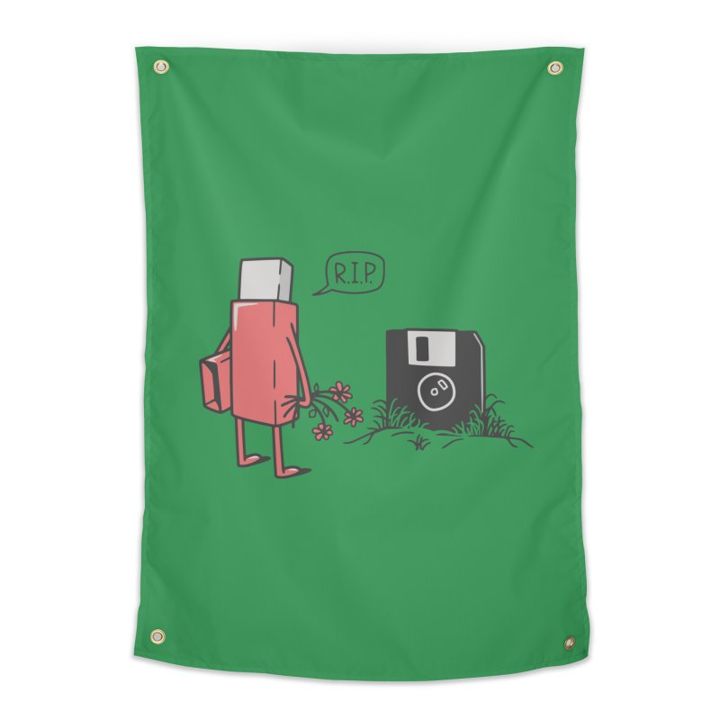 RIP FLOPPY Home Tapestry by gotoup's Artist Shop