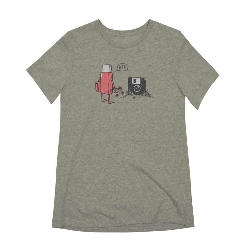 RIP FLOPPY Women's Extra Soft T-Shirt by gotoup's Artist Shop