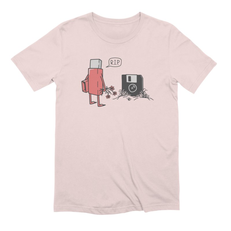 RIP FLOPPY Men's Extra Soft T-Shirt by gotoup's Artist Shop