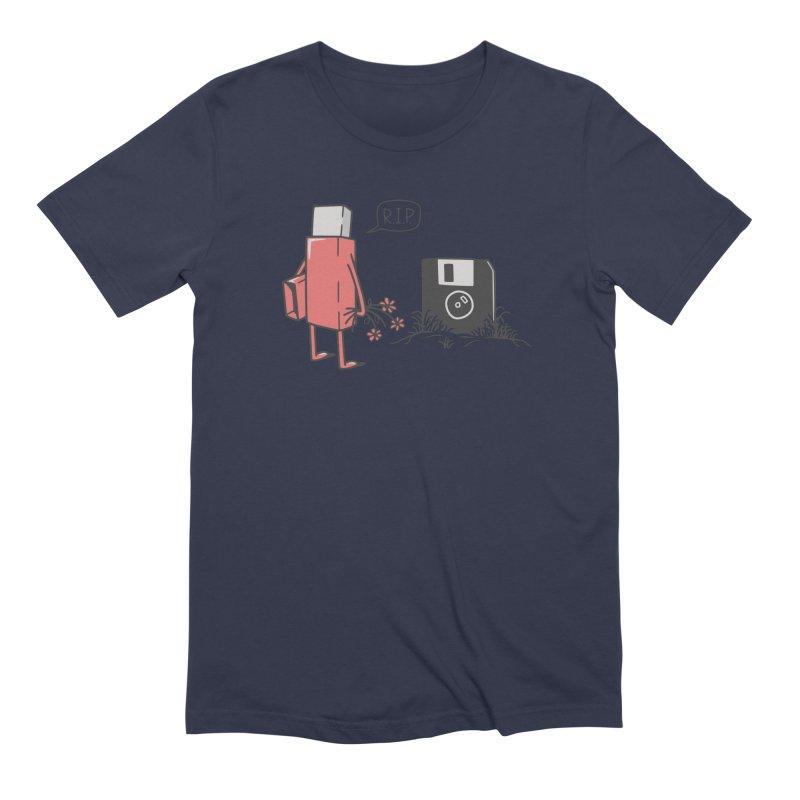 RIP FLOPPY Men's Extra Soft T-Shirt by gotoup's Artist Shop