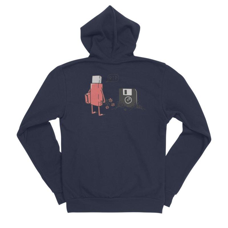 RIP FLOPPY Women's Sponge Fleece Zip-Up Hoody by gotoup's Artist Shop