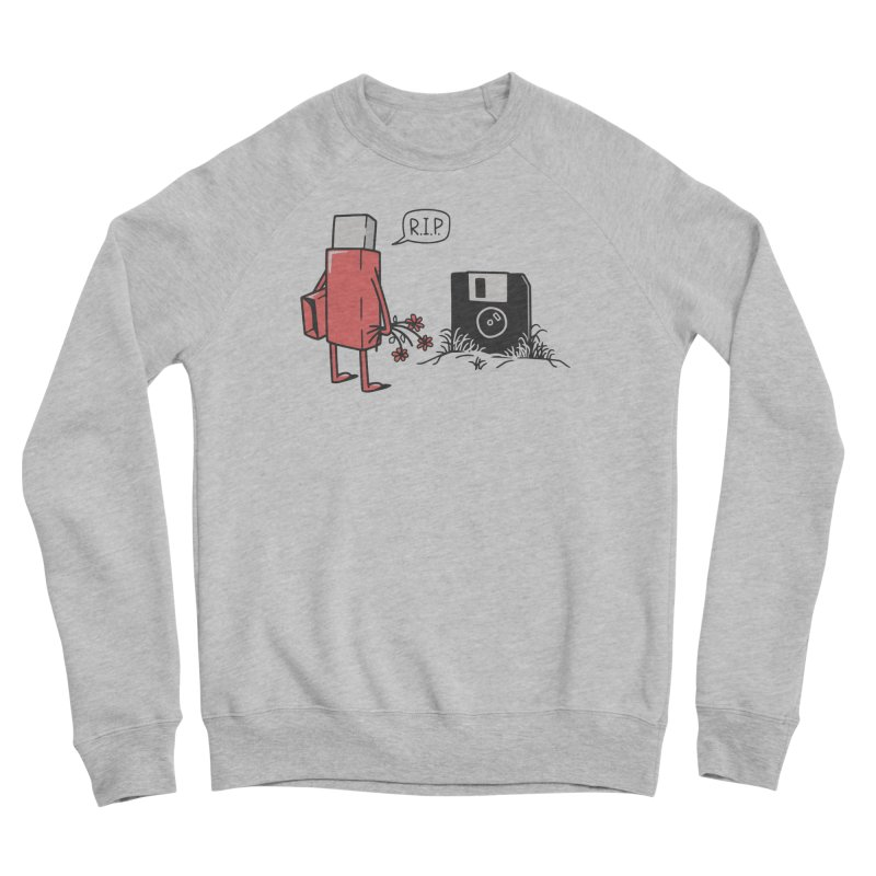 RIP FLOPPY Women's Sponge Fleece Sweatshirt by gotoup's Artist Shop