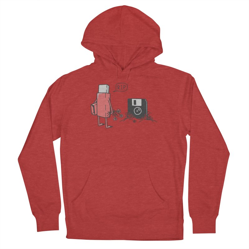 RIP FLOPPY Women's French Terry Pullover Hoody by gotoup's Artist Shop