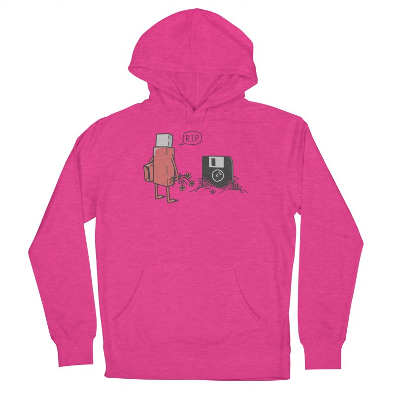 RIP FLOPPY Men's French Terry Pullover Hoody by gotoup's Artist Shop